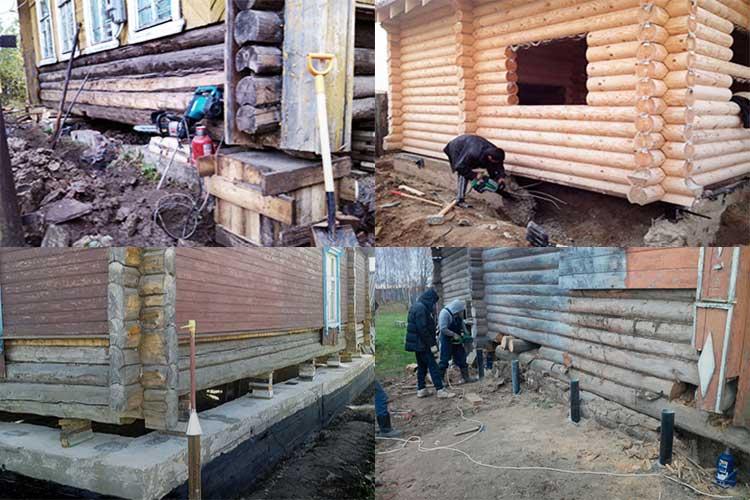 Подготовка и заливка фундамента под старый дом - самстрой - строительство, дизайн, архитектура.