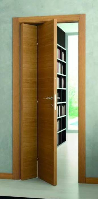 Складные двери (фото): виды, этапы монтажа