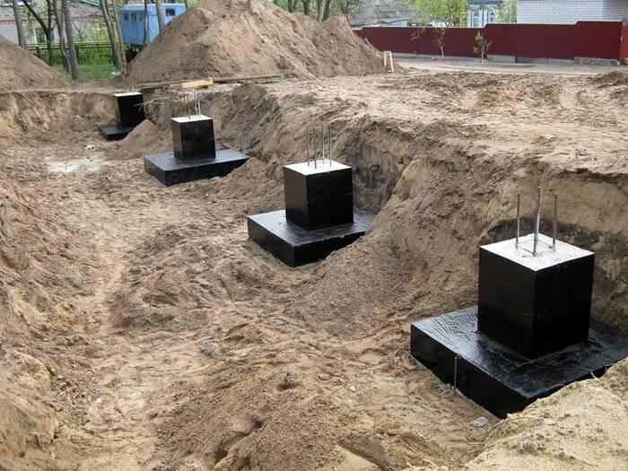 Типы фундаментов: ленточный, стаканный, свайный, плитный. какой тип фундамента выбрать для дома?