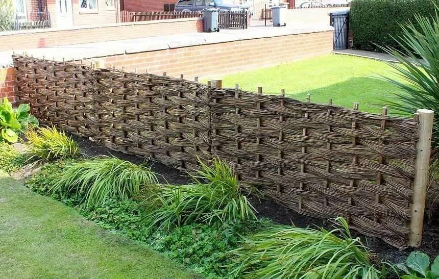 Забор плетенка из доски своими руками [18 фото] | «mz»