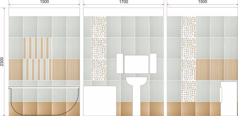 Укладка плитки в ванной (94 фото): какое керамическое покрытие выбрать и как класть своими руками, как правильно уложить материал и сделать затирку швов