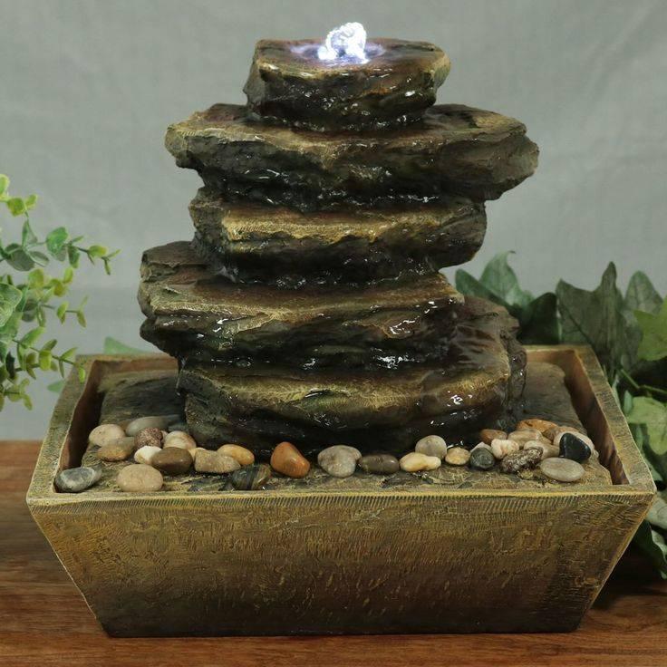 Как сделать в домашних условиях фонтан? декоративный комнатный фонтанчик своими руками