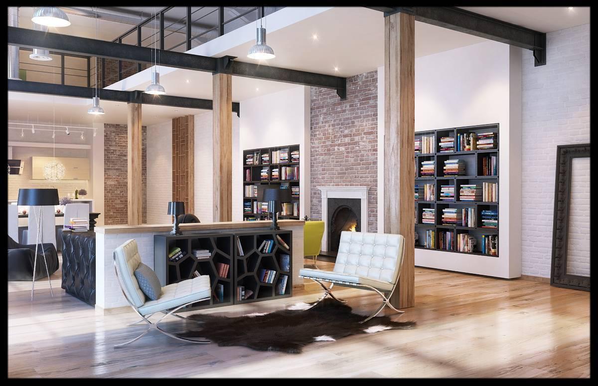 Однокомнатная квартира в стиле лофт: дизайн маленьких однушек, фото проектов