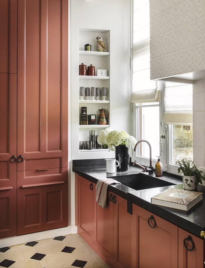 Идеи, как обустроить кухню: фото обустройство кухни мебелью и аксессуарами