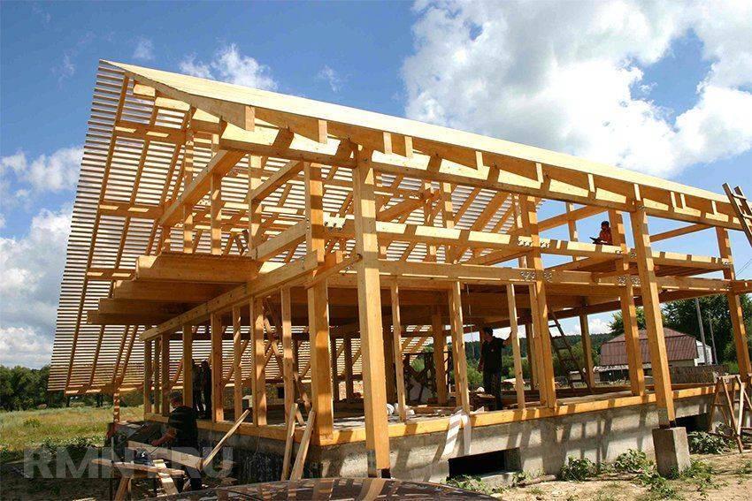 Дома фахверк: проектирование истроительство