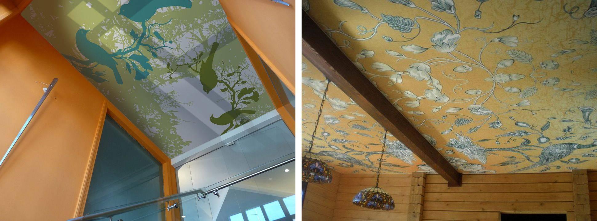 Тканевые натяжные потолки своими руками - оформление и монтаж!