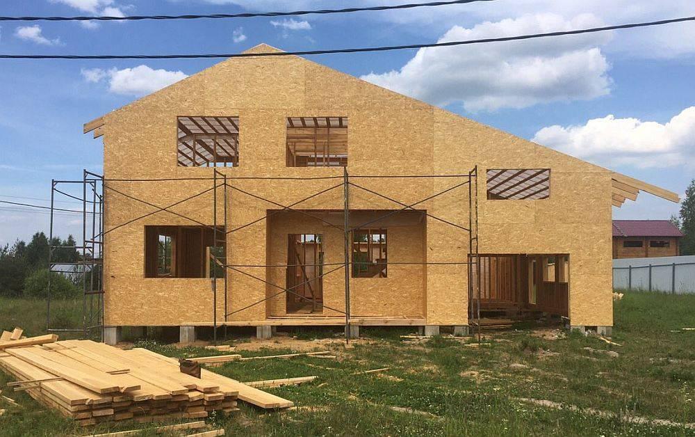Какой дом лучше строить-каркасный или щитовой ⋆ строю дом
