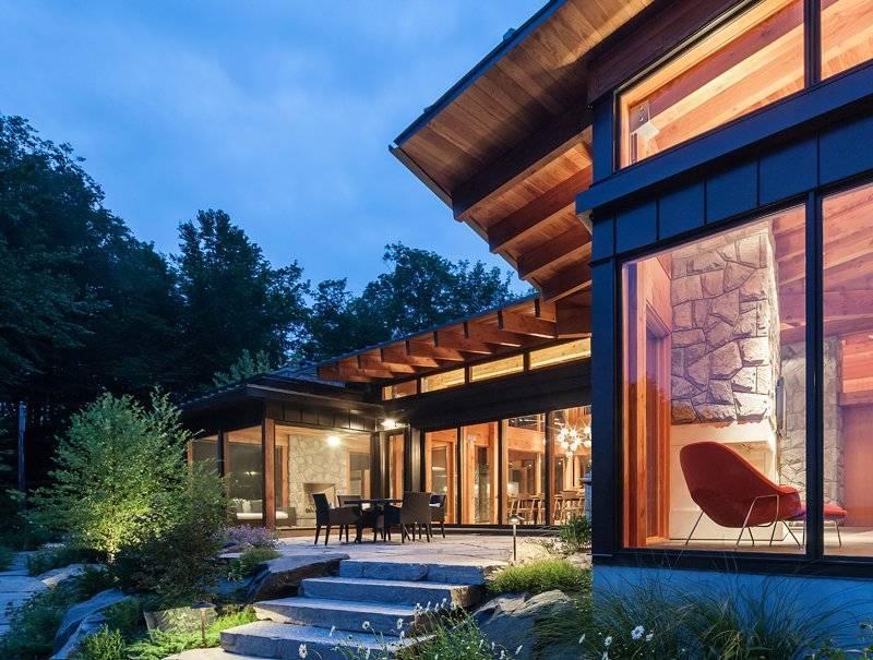 Стеклянный дом: 100+ фото [самые красивые дома 2018]