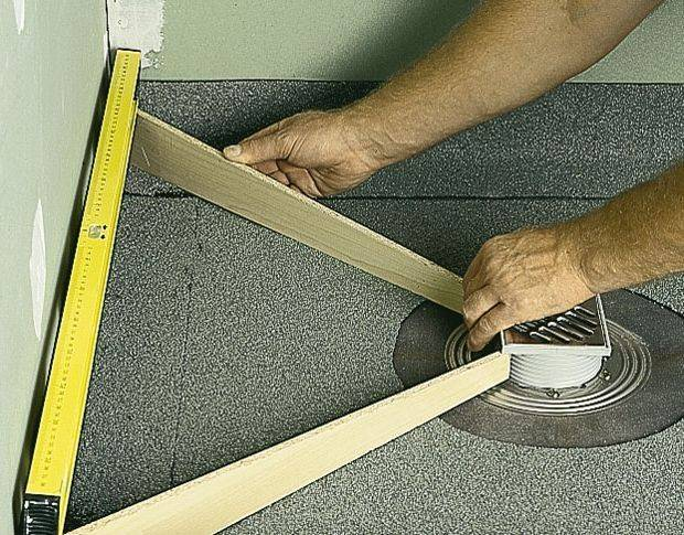 Трап для душа в полу под плитку: выбор и установка
