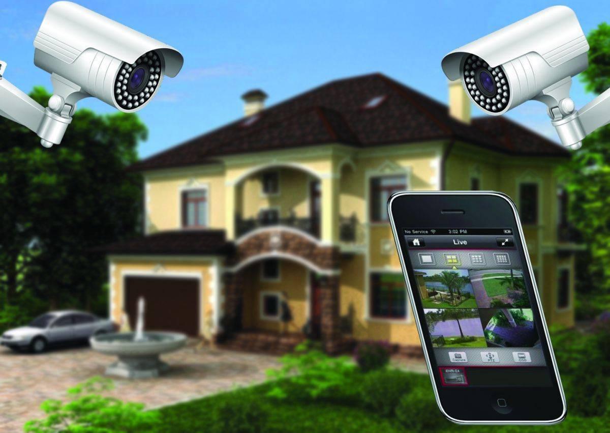 Видеонаблюдение на даче — удаленное наблюдение через интернет