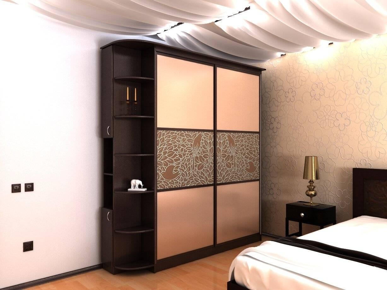 Шкафы в спальню, фото, формы, размеры, стили, внутреннее наполнение