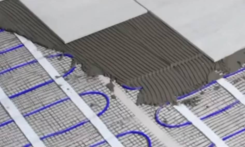 Электрический теплый пол под ламинат своими руками - пошаговая инструкция