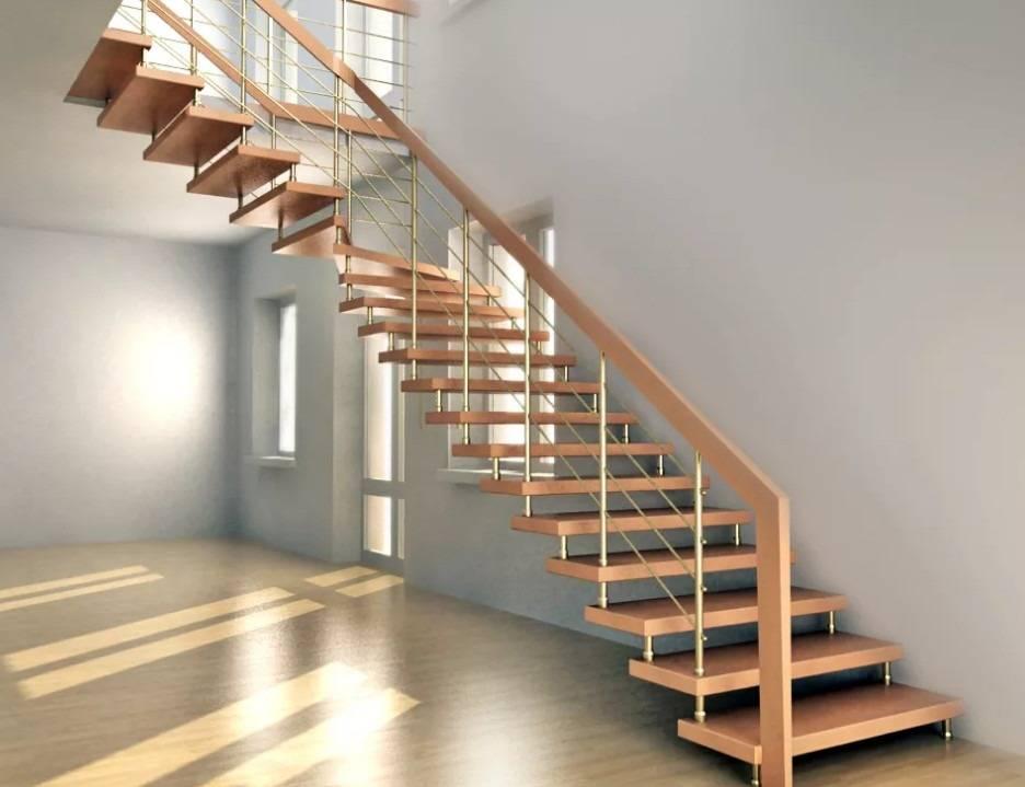 Деревянная лестница на второй этаж: устройство   100 фото