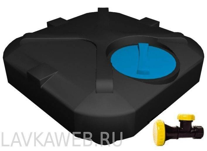 Бак для душа пластиковый плоский: летнего, емкость на дачу с подогревом воды, как установить бучку
