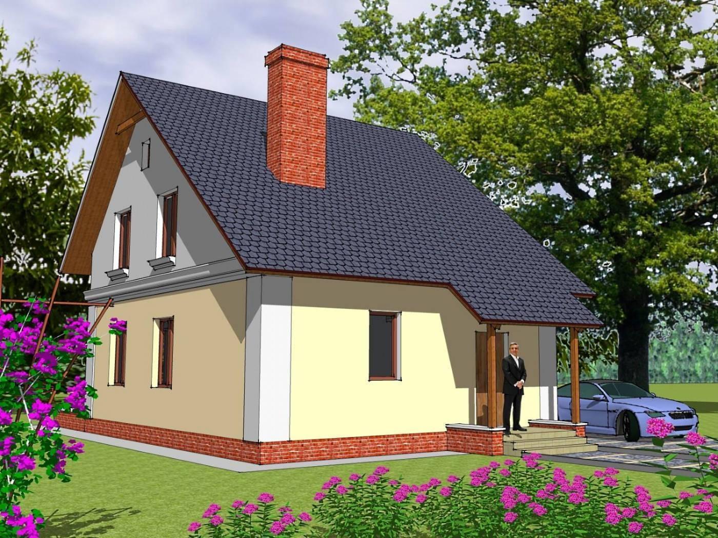 Строительство дома из пеноблоков эконом класса своими руками