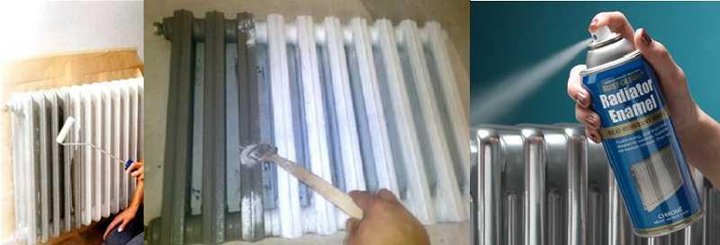 Эмаль для радиаторов: акриловая краска «универсал» для батарей отопления, белый радиаторный состав на водной основе без запаха