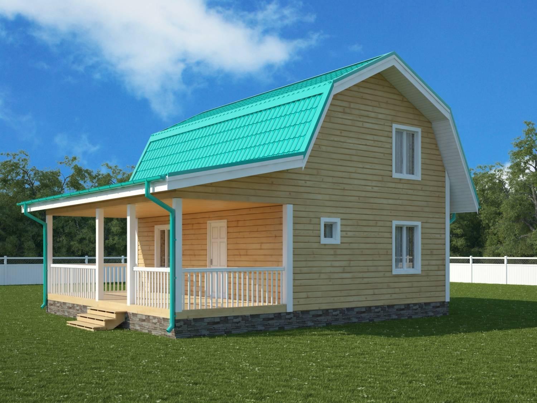 Загородные дома эконом-класса