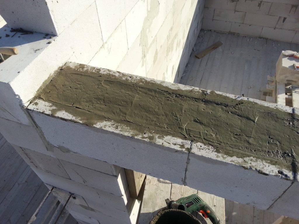 Возведение стен из пеноблоков: технология кладки подробнее о  армирование