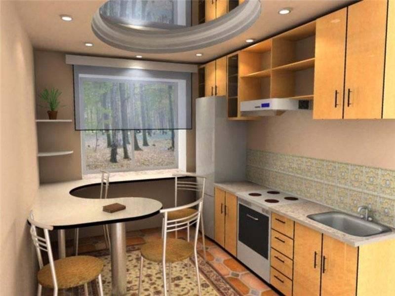 Дизайн проект кухни 9 кв.м