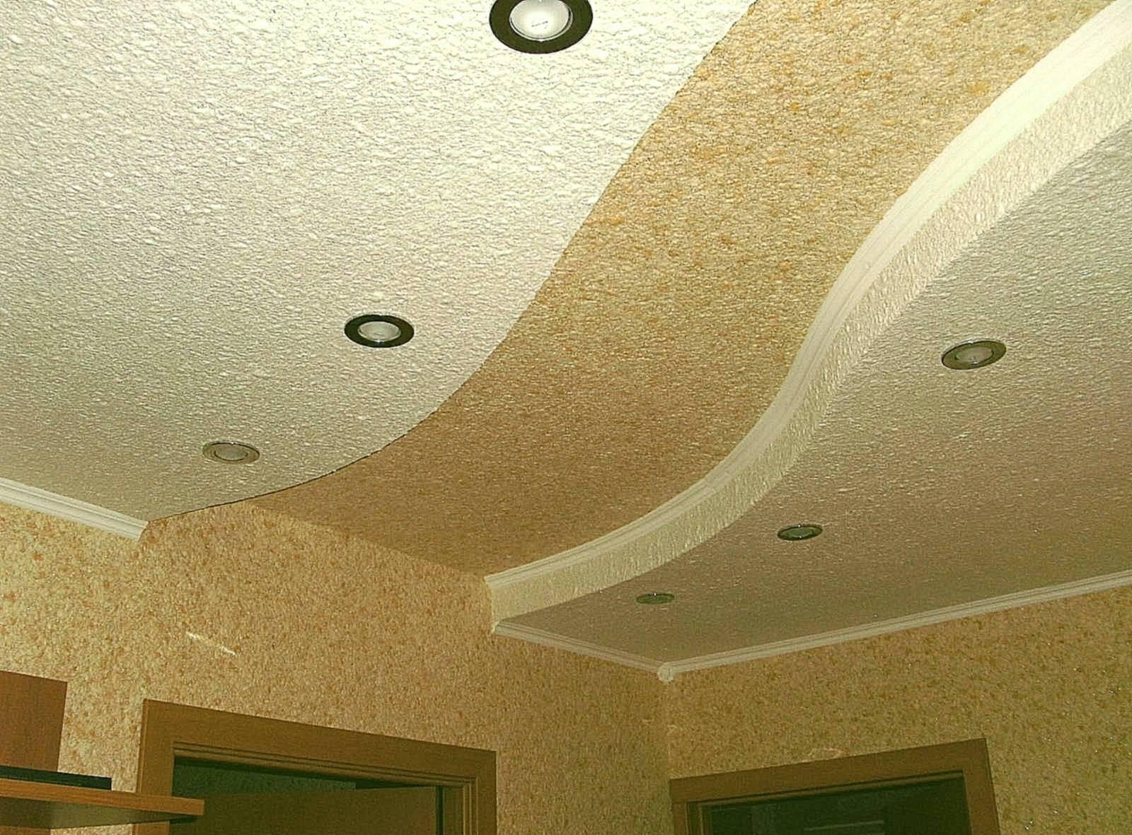 Как сделать декоративную штукатурку на потолке самостоятельно