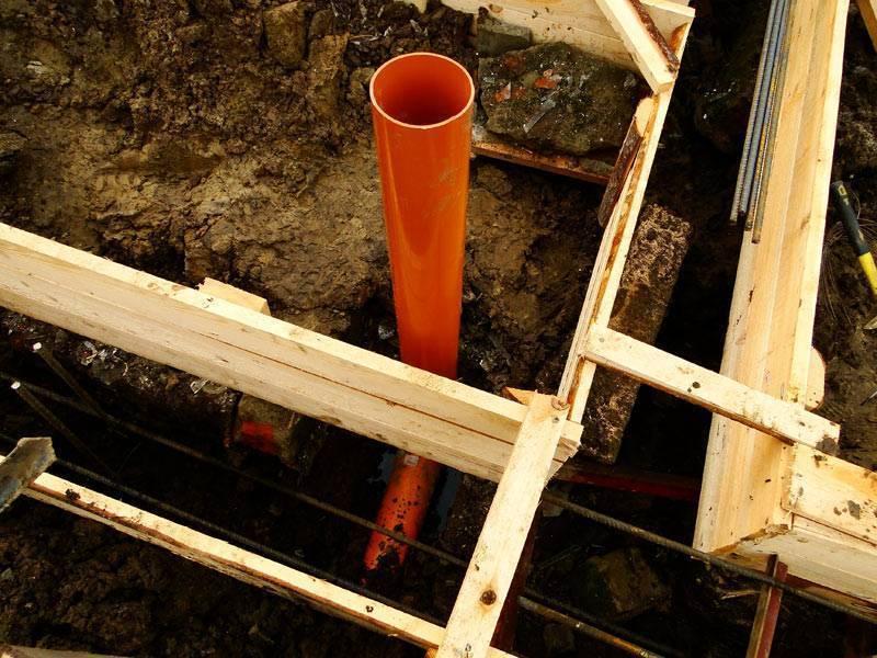 Фундамент из асбестоцементных труб: особенности основания, расчет и тонкости монтажа
