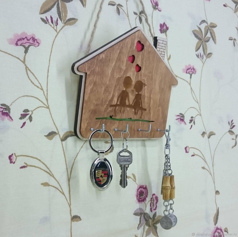 Ключница из дерева, мастер-классы как сделать в домашних условиях