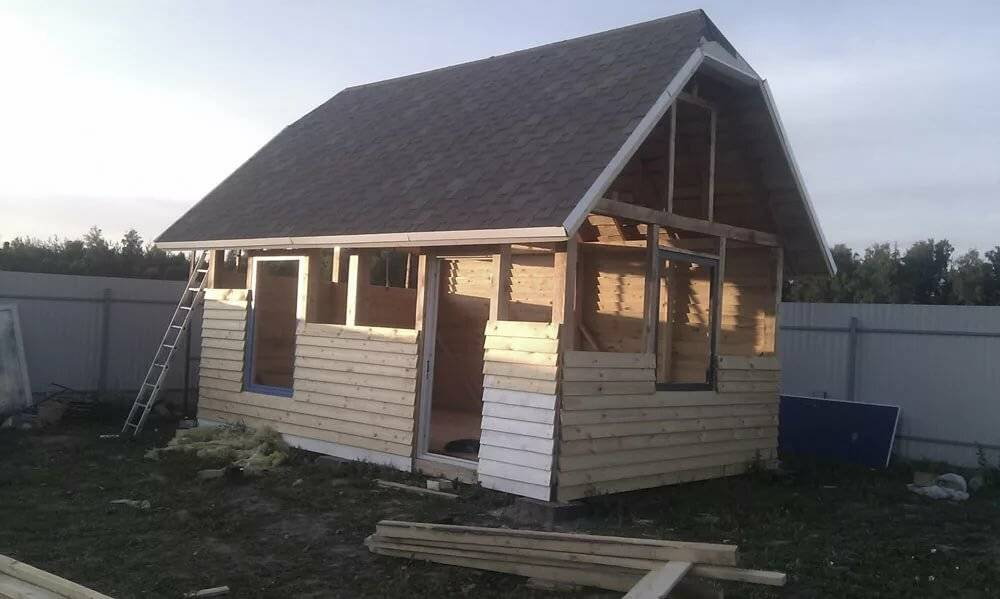 Как построить дачный домик своими руками: планы и проекты готовых домов (+фото)