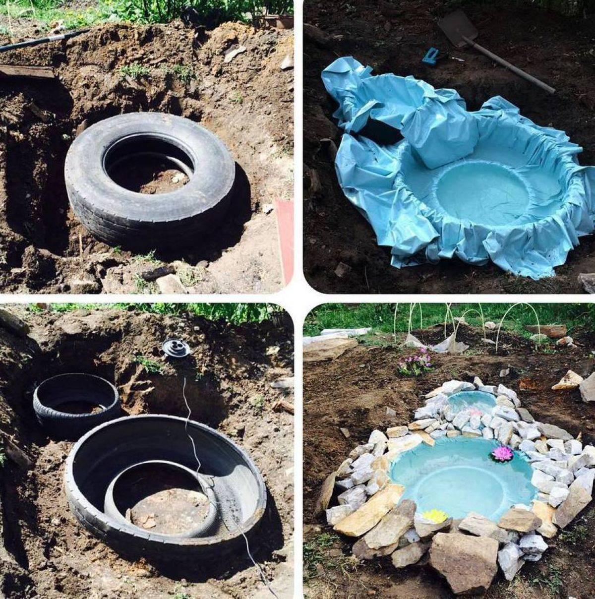 Создание пруда на даче своими руками: фото, видео, пошаговая инструкция, как сделать пруд