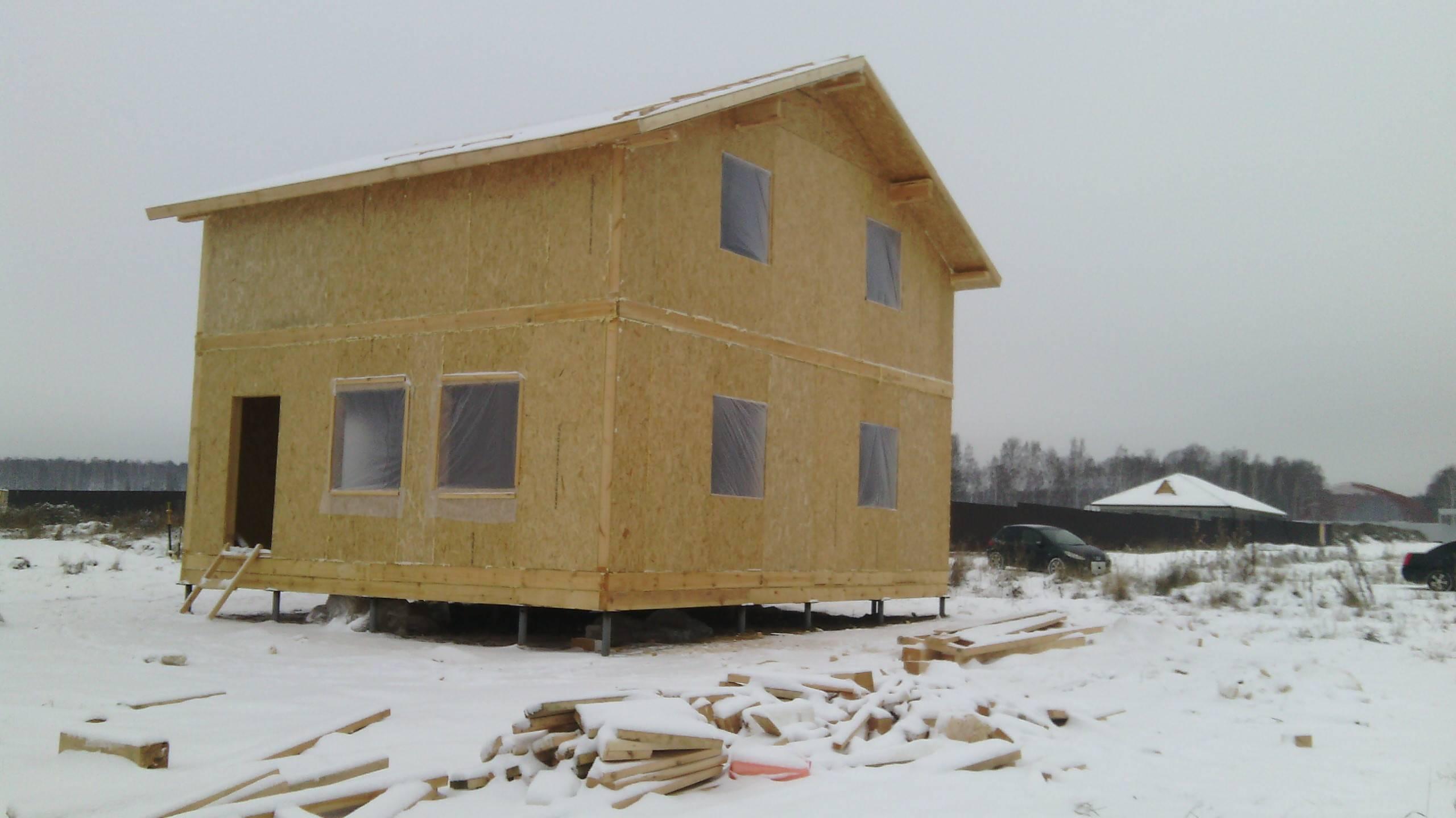 Канадская технология строительства каркасных домов из сип панелей