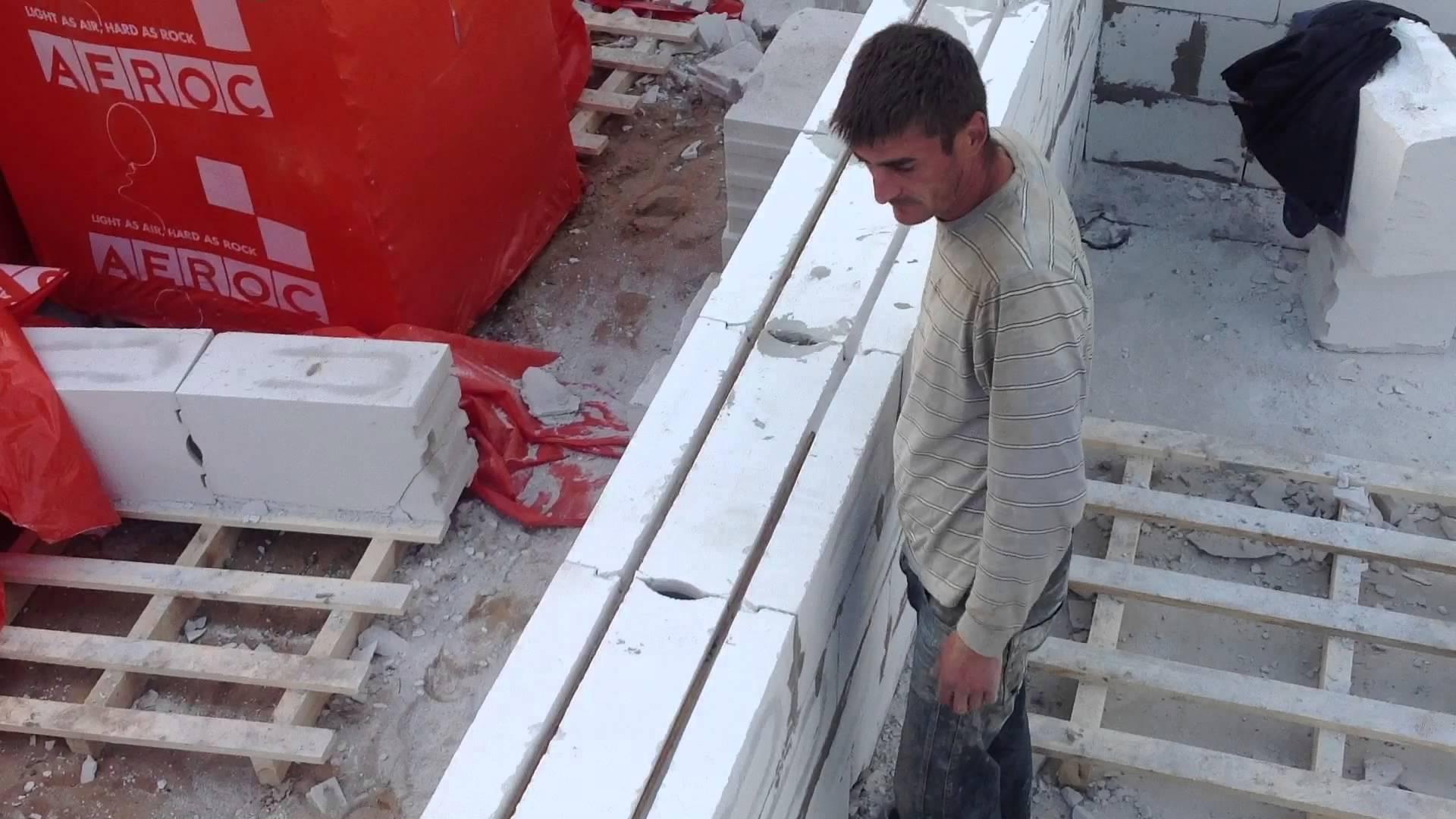 Как сделать кладку из газосиликатных блоков своими руками