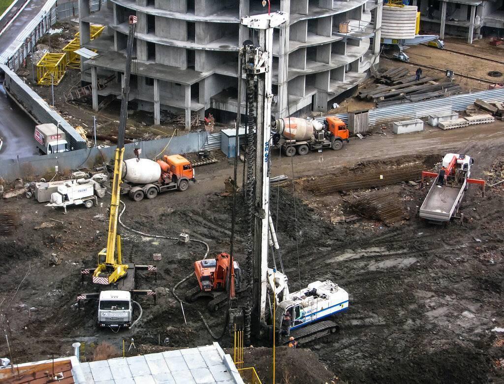 Технологии строительства многоэтажных жилых домов