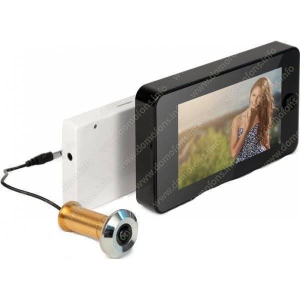 Проводной видеоглазок – особенности выбора и монтажа