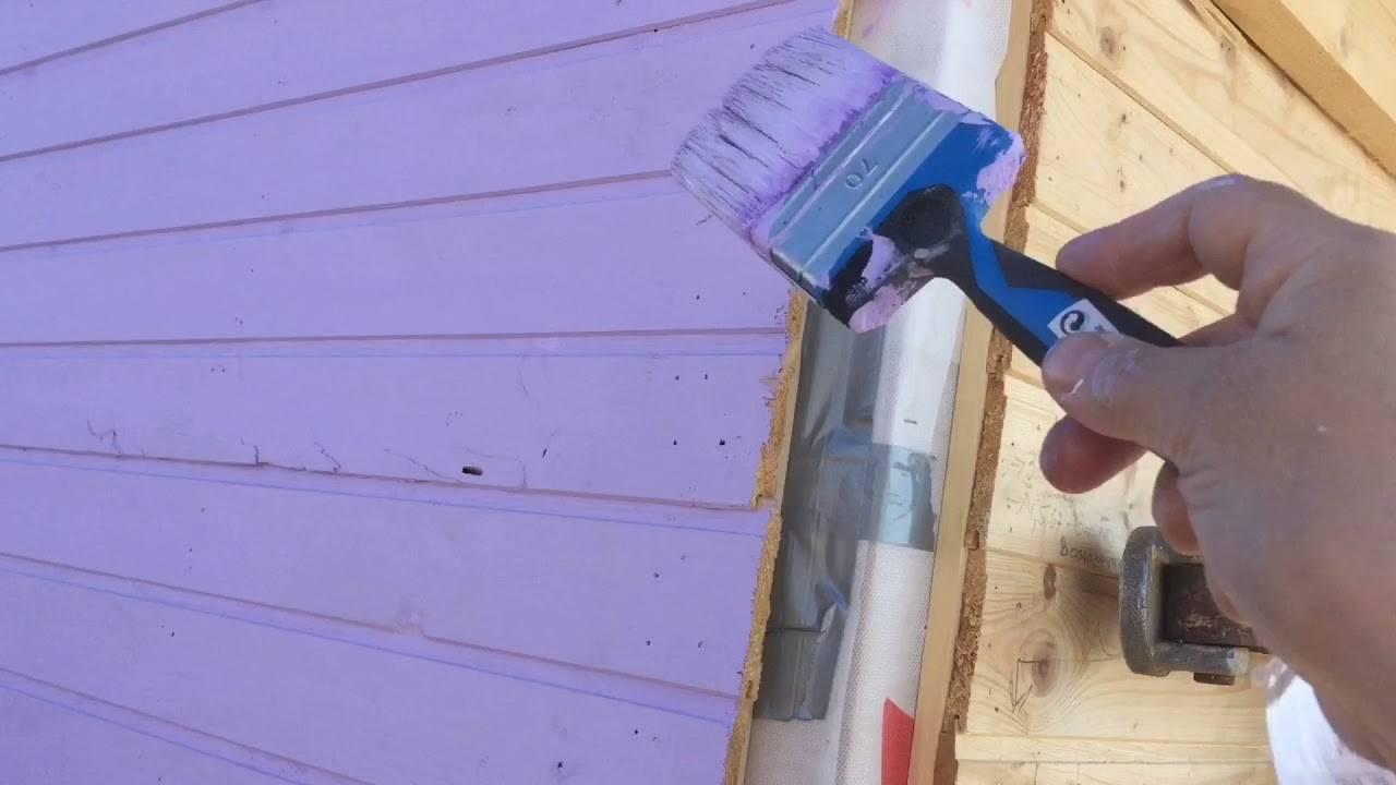 Чем и как красить деревянный дом?