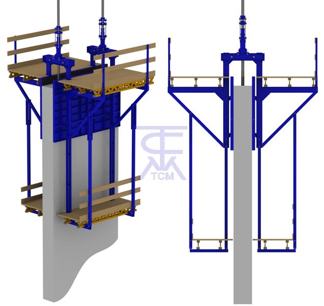 Скользящая опалубка, применение скользящей опалубки в строительстве, технология устройства скользящей опалубки