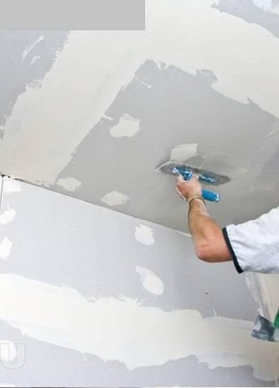 Качественная шпаклевка гипсокартона под покраску своими руками