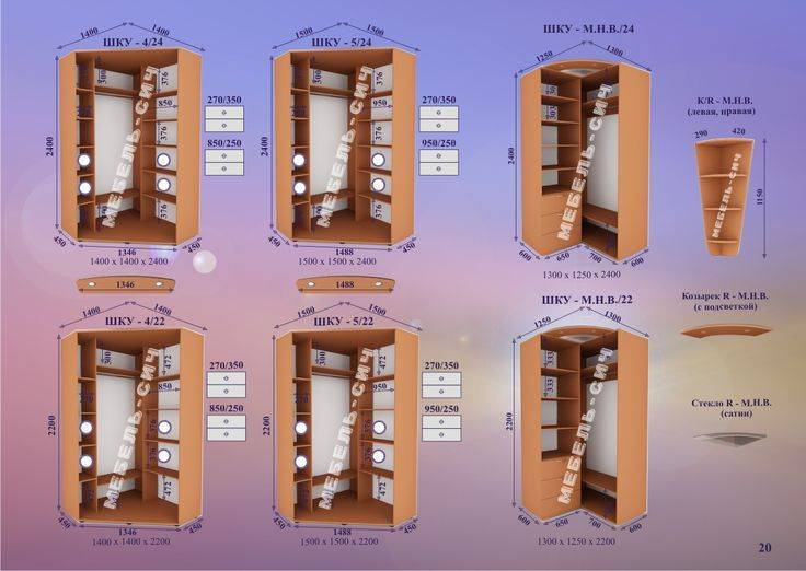 Угловой шкаф в прихожую – интересные варианты