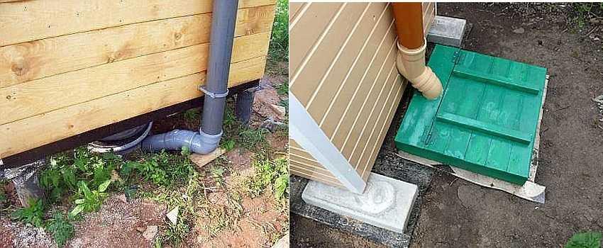 Как устранить запах в туалете на даче