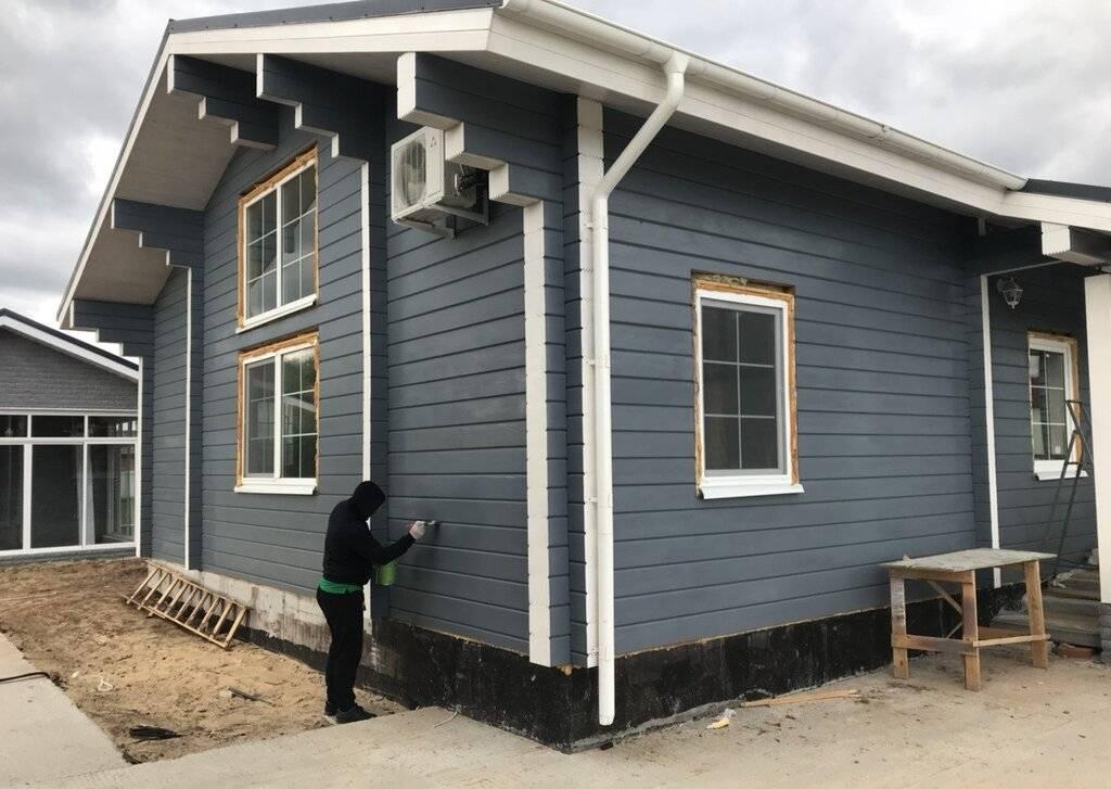 Какие отделочные материалы подходят для облицовки фасада дома из бруса