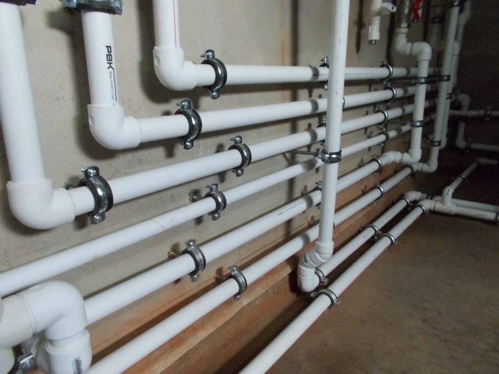 Монтаж водопровода из полипропиленовых труб – своими руками