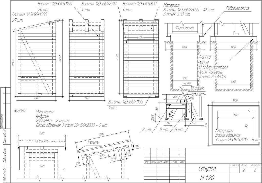 Туалет на даче своими руками: компоновка и стиль, чертежи, постройка