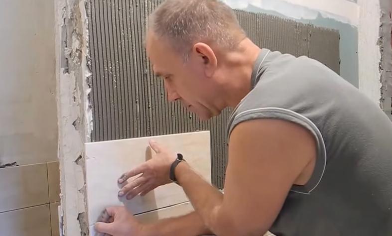 Как клеить керамическую плитку на гипсокартон