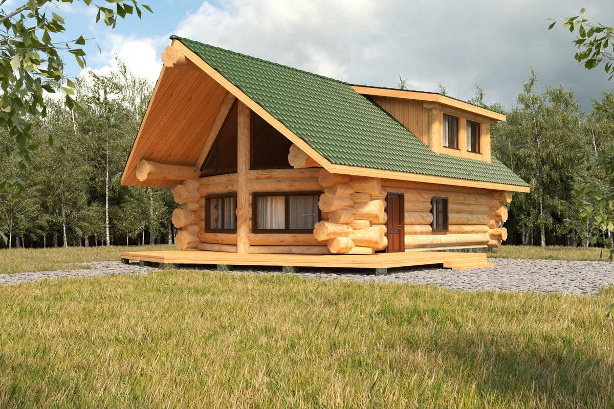 Постройка бревенчатого дома. традиционная и современная технологии