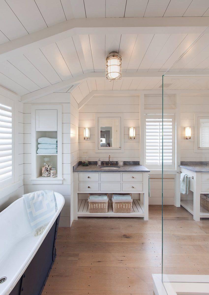 Гидроизоляция ванной комнаты в деревянном доме: как сделать своими руками?