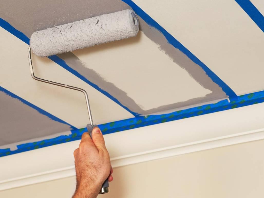 Какой краской покрасить потолок и стены на кухни