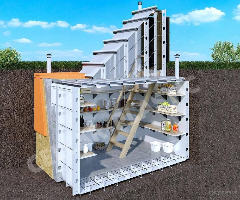 Пластиковый погреб – как правильно выбрать и провести монтаж конструкции?