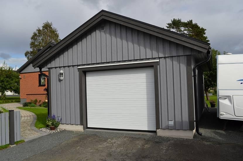 Возводим гараж из профнастила: выбор места, составление проекта, способы утепления