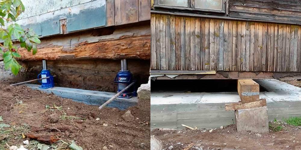 Делаем ремонт цоколя дома своими руками