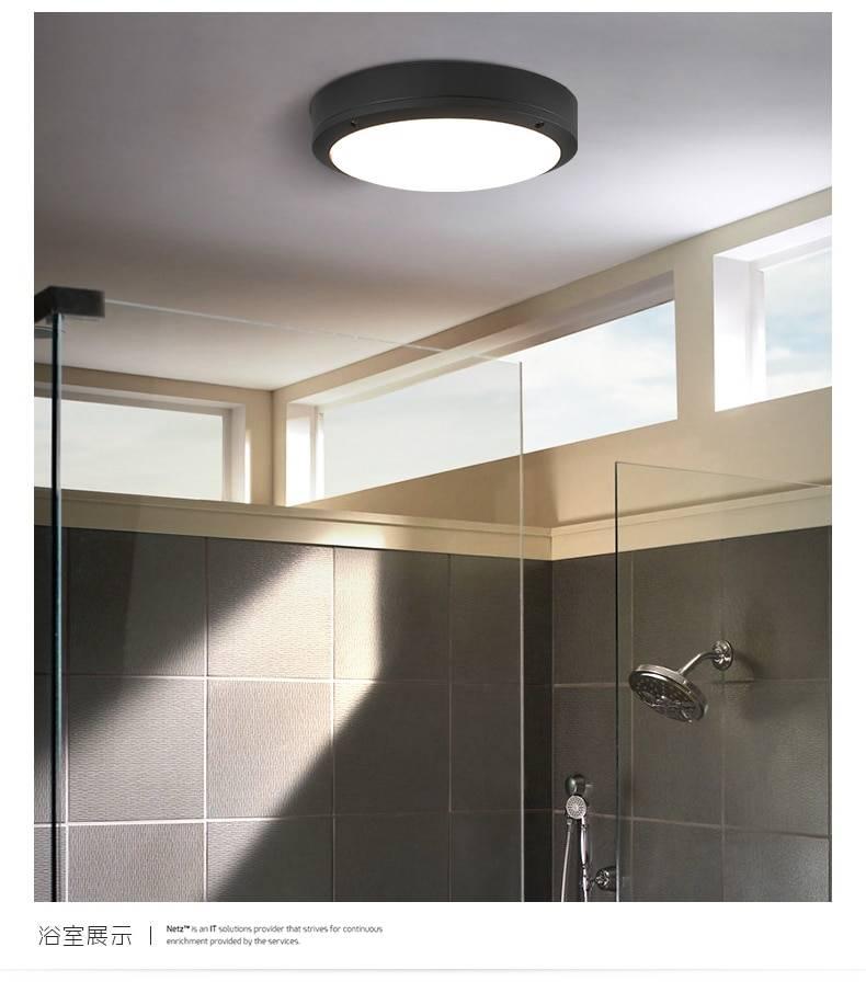 Светодиодный светильник для ванной комнаты, какие выбрать: виды и монтаж