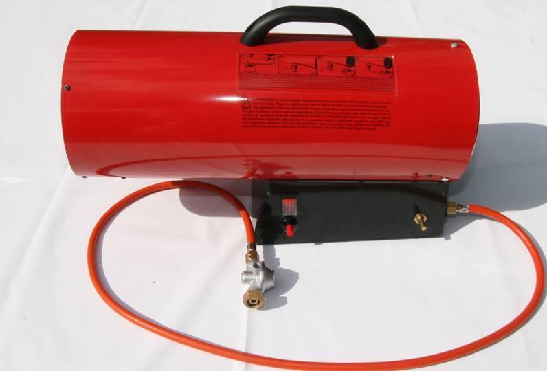 Зачем нужна тепловая пушка для установки натяжных потолков?