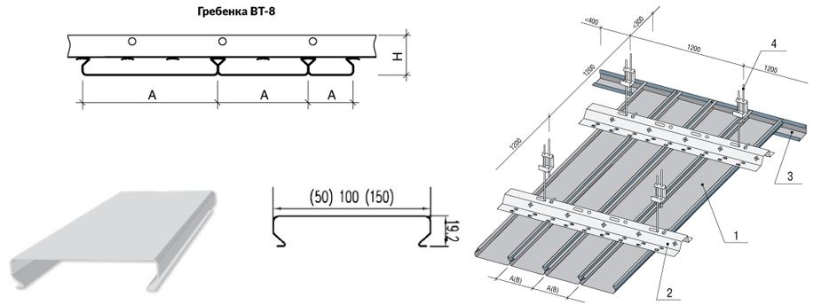 Монтаж реечного потолка: видео-инструкция по установке, как смонтировать своими руками, фото